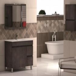 Mueble de baño NILO 100 con encimera porcelana