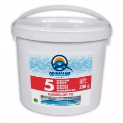 Cloro Quimiclor PS 5 efectos 5 Kg